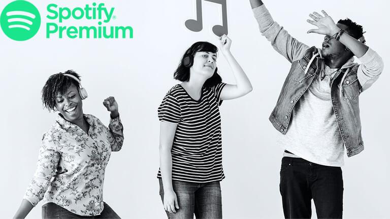 partage contrôle musique spotify