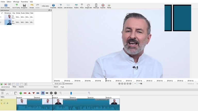 shotcut logiciel montage vidéo