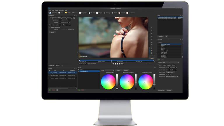shotcut options montage multisystème