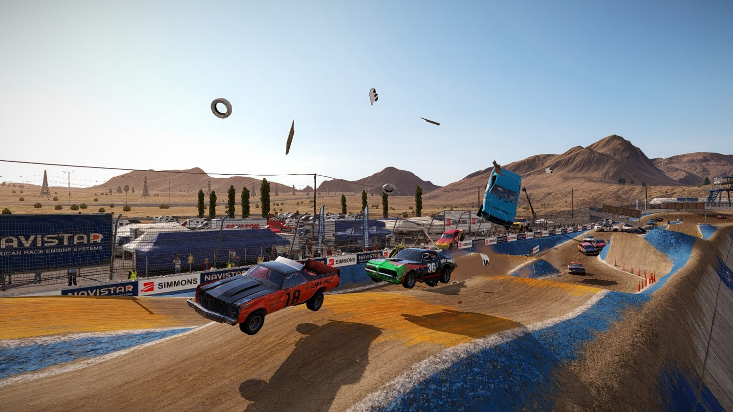 wreckfest. Credit photo: Will (the real one) on Steam