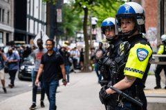 Une manifestation pour le «définancement» de la police à Montréal