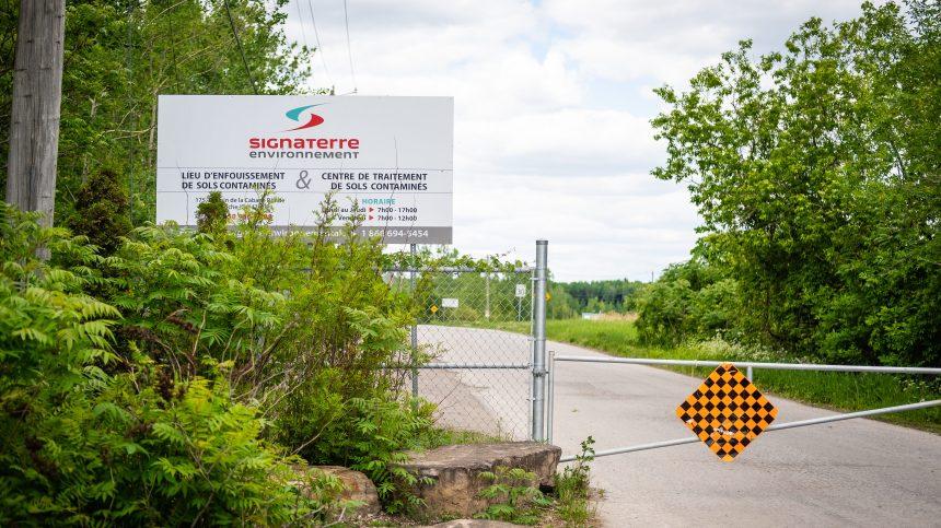 Ce site pourrait accueillir des millions de tonnes de sols contaminés montréalais
