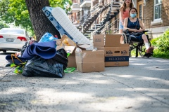 Déménagement: le nombre de familles sans logement atteint un sommet vieux de 15 ans