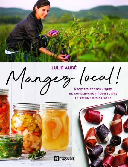 Couverture du livre Mangez local