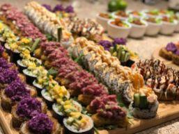 Grand plateau de sushis