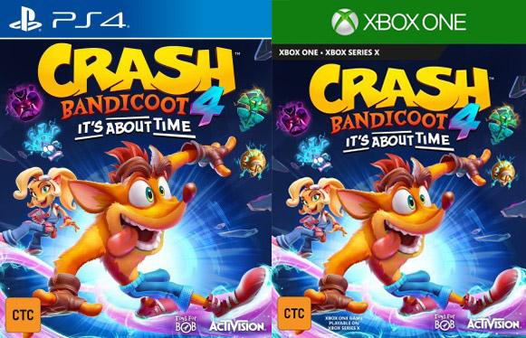 Un nouveau Crash Bandicoot annoncé par accident