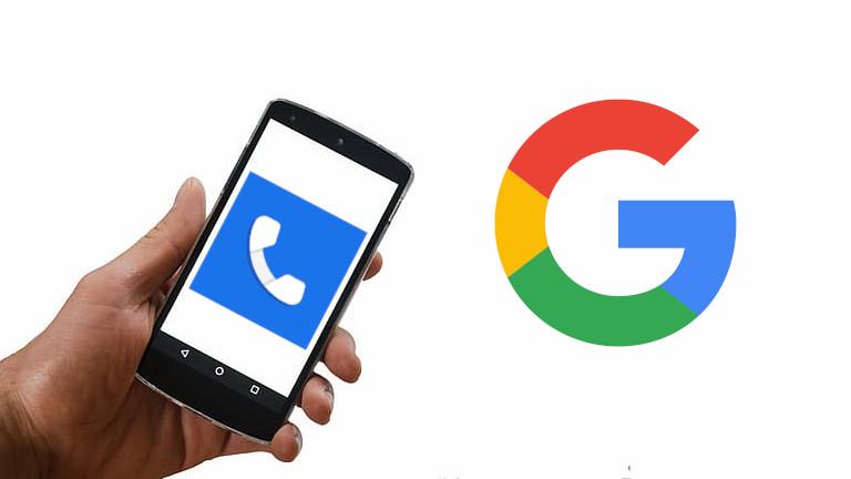 Google Téléphone application vérification des appels