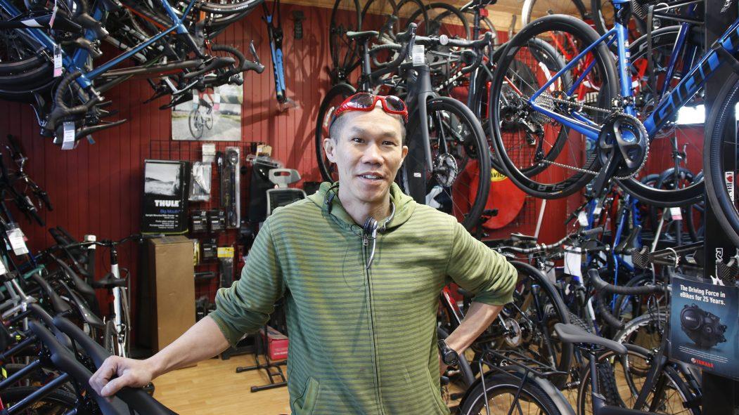Howard Lee est propriétaire de Cycles Saint-Laurent depuis plus de 20 ans.