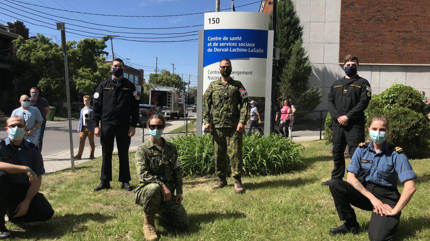 L'armée en renfort aux Floralies Lachine