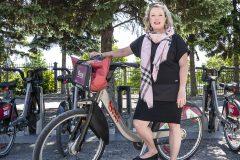 BIXI Montréal: le chantier «titanesque» de Marie Elaine Farley