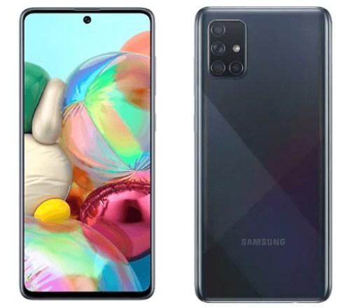 Galaxy A71 promotion