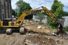 Début du chantier à Gérald-Godin