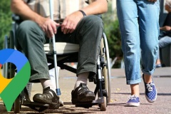 Google Maps veut améliorer son accessibilité aux personnes handicapées