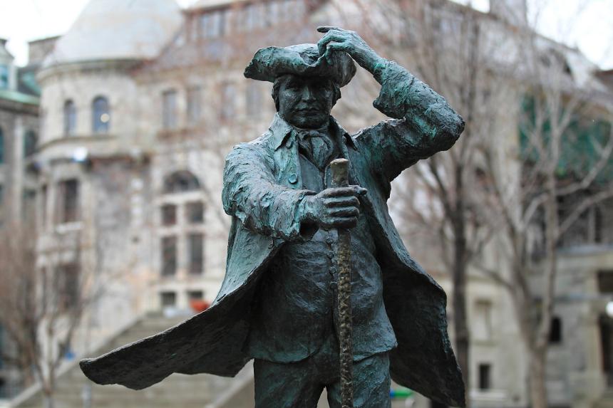 Pétition pour remplacer une statue du fondateur de l'université McGill