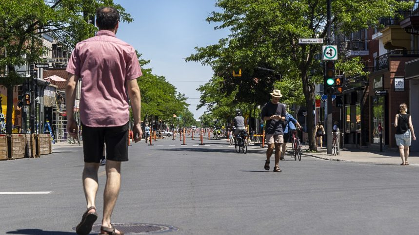 La piétonnisation de l'avenue du Mont-Royal divise les résidents