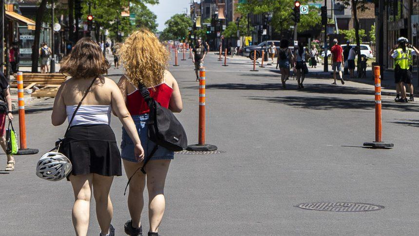 La piétonnisation s'amorce progressivement sur l'avenue du Mont-Royal