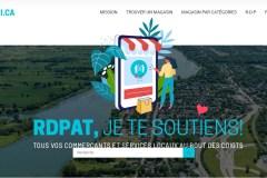 Un seul site pour réunir les commerces de RDP et PAT