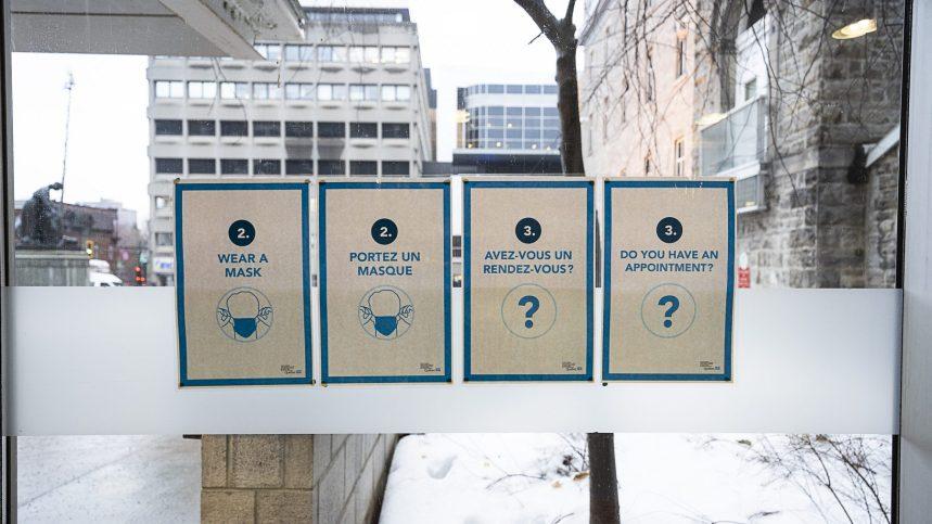 Coronavirus: 20 décès, un nouveau plancher pour le Québec