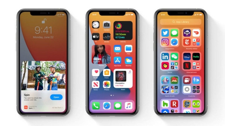 iPhone iOS 14 téléphone Apple compatibles