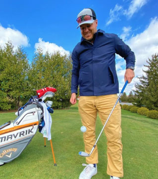 Max Lalonde Guide Vacances golf