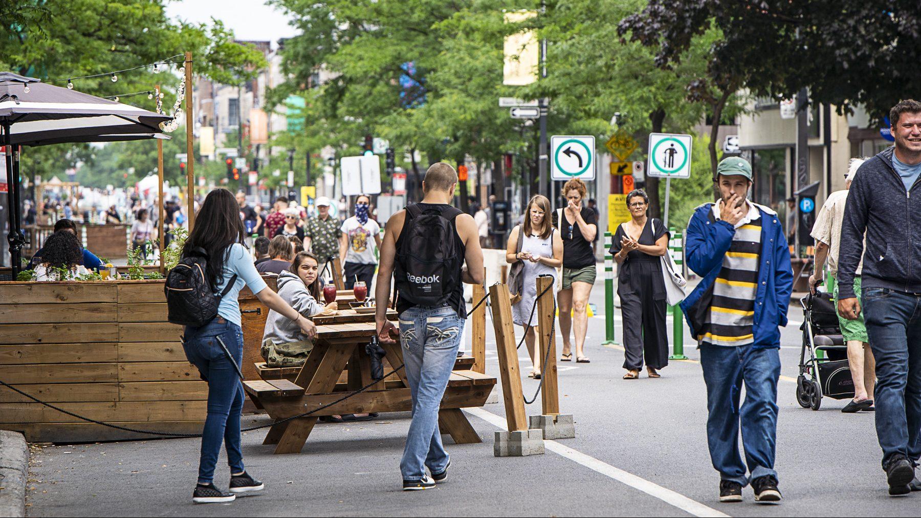 L'avenue du Mont-Royal connaît du succès auprès des commerçants