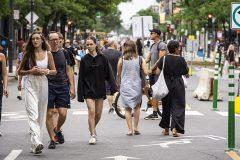 Une trentaine d'artistes viendront embellir l'avenue du Mont-Royal