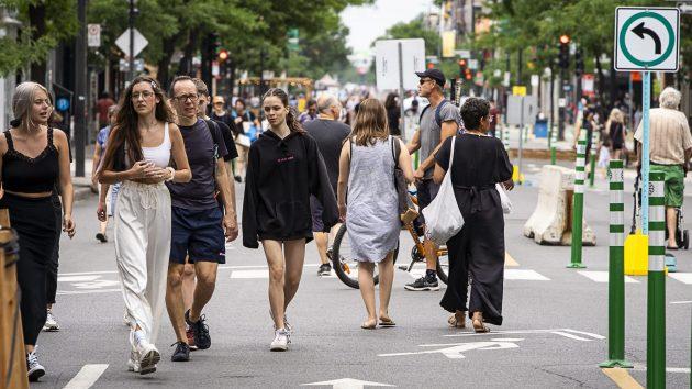 Montréal: jusqu'à 10 artères commerciales piétonnisées