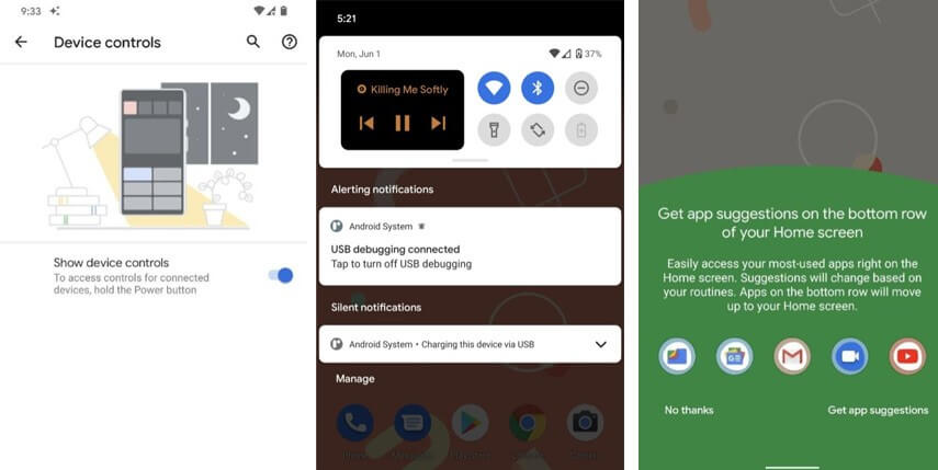 nouveautés android 11 mise à jour