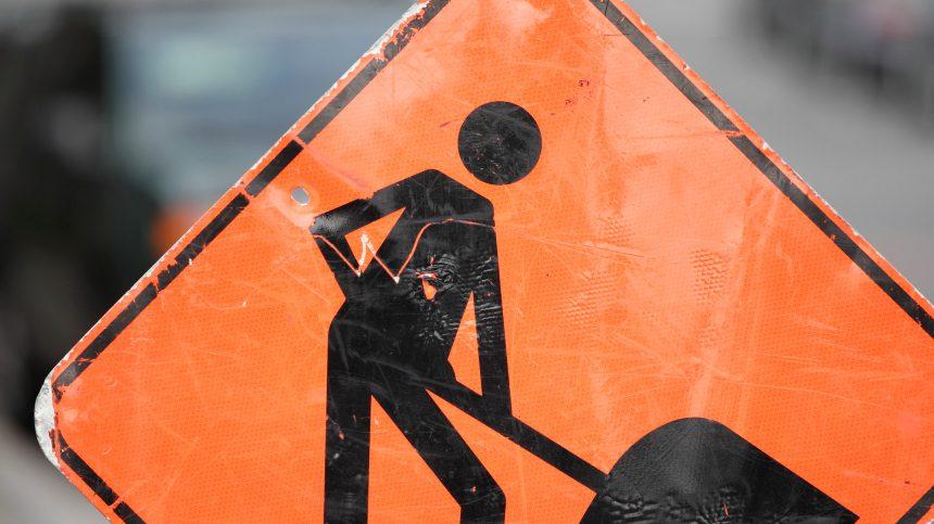 pancarte chantiers travaux