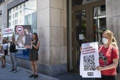 Cruauté animale: mobilisation contre Canada Goose à Montréal