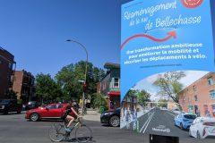 Pistes cyclables dans Rosemont: des résidents convaincus, des commerçants inquiets