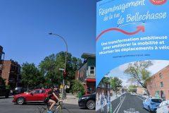REV sur Bellechasse: nouvelle offensive des commerçants