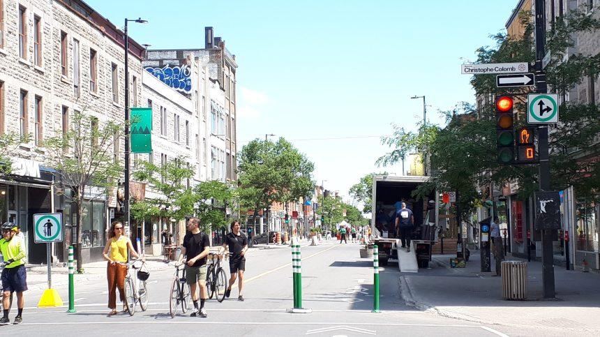 Les voies cyclables et piétonnes complexifient les déménagements dans le Plateau-Mont-Royal
