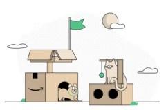 Réutilisez les boîtes Amazon pour amuser vos enfants et votre chat