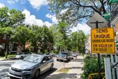 Moins de stationnements, plus de vélos dans Mercier