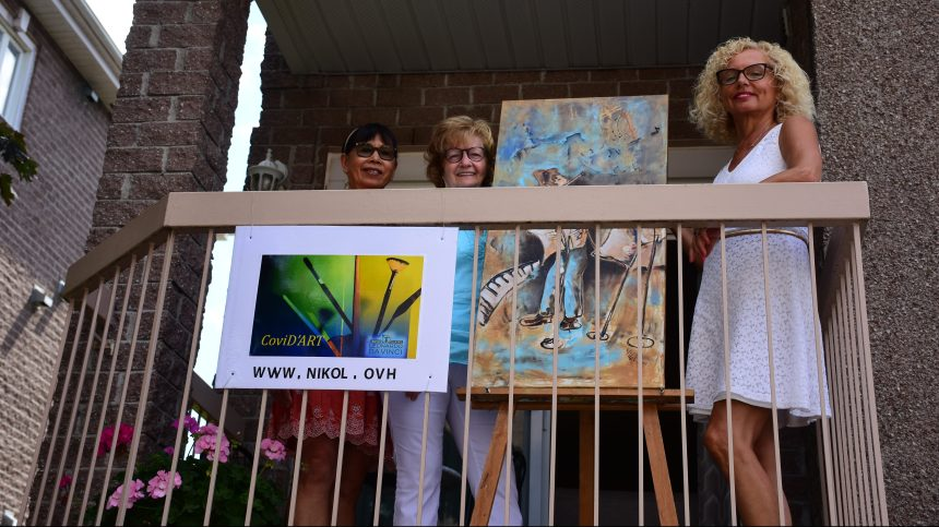 CoviD'art: exposer l'art en extérieur