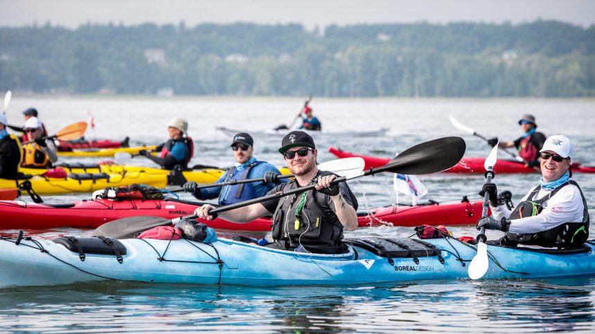 Défi kayak Desgagnés: pagayer pour l'éducation des jeunes