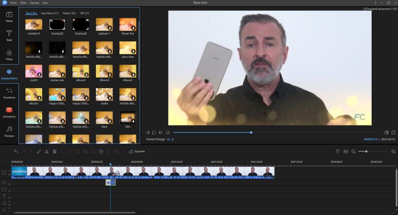 EaseUS Video Editor logiciel montage vidéo