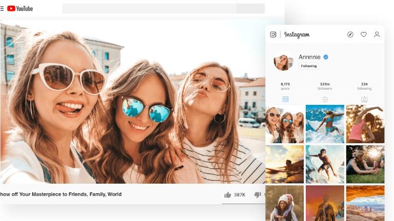 Un logiciel de montage vidéo idéal pour les médias sociaux et les ados
