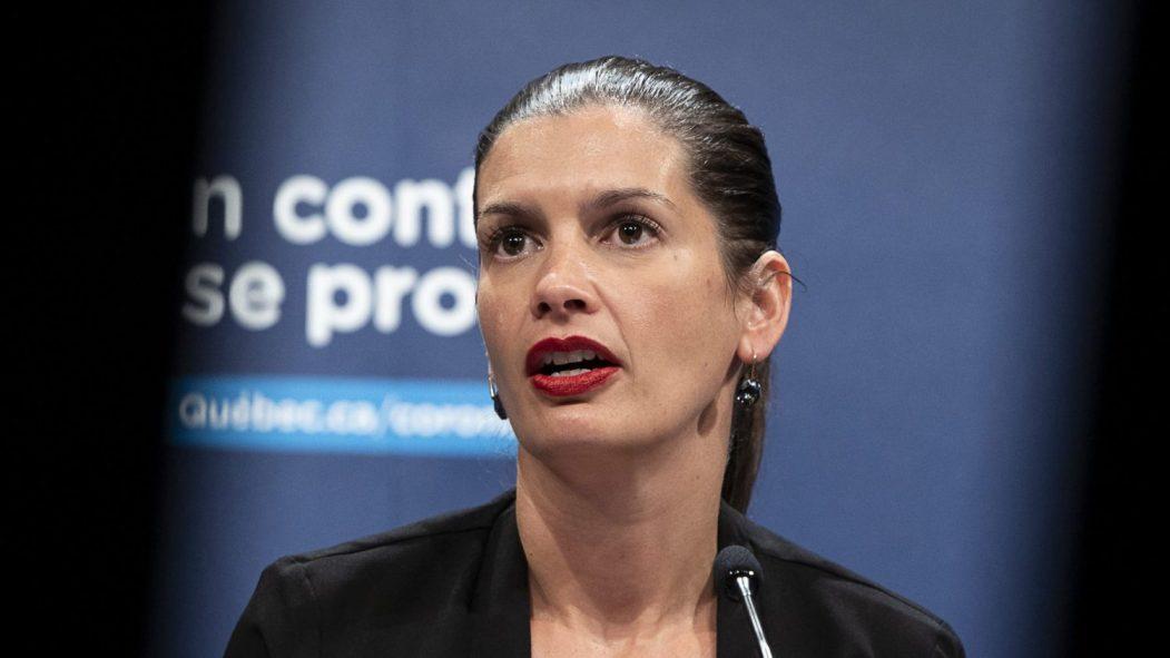 La ministre de la Sécurité publique, Geneviève Guilbault