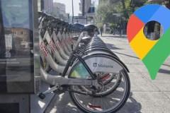 Google Maps offre des itinéraires pour les vélos en libre-service tel BIXI