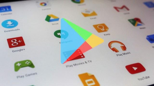 Google Play Store filtre 4,5 étoiles applications
