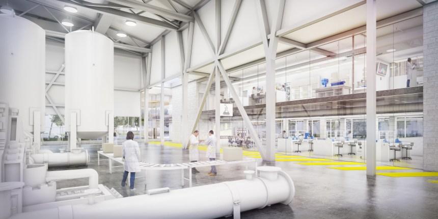Technopôle Angus: une nouvelle infrastructure pour développer la chimie verte