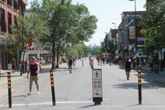 Rue Ontario: la piétonnisation divise les commerçants