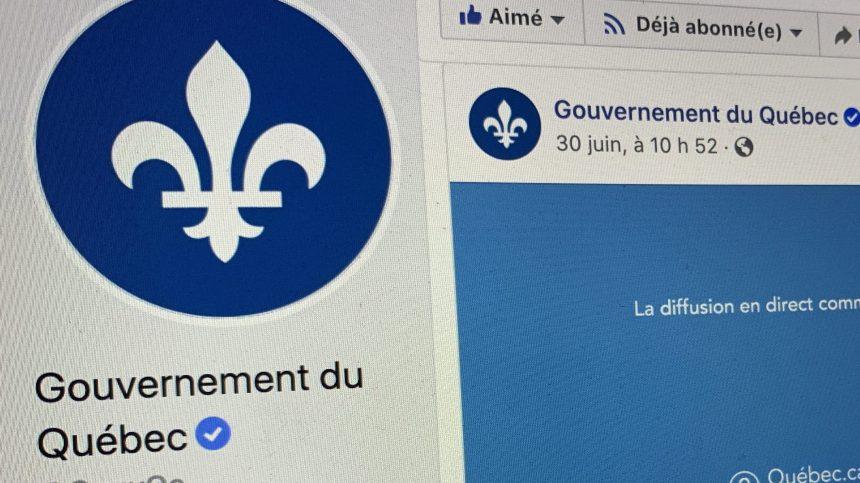 Commentaires haineux: Québec participera au boycott de Facebook