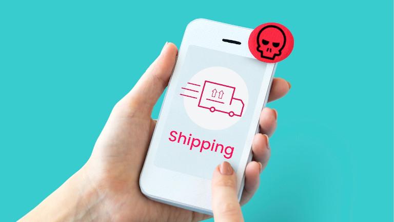 FakeSpy logiciel malveillant Android service livraison colis