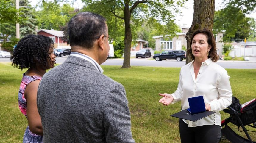 Reconnaissance symbolique pour les demandeurs d'asile de Montréal-Nord