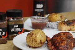 La recette de poitrine de poulet et pommes de terre de deux façons