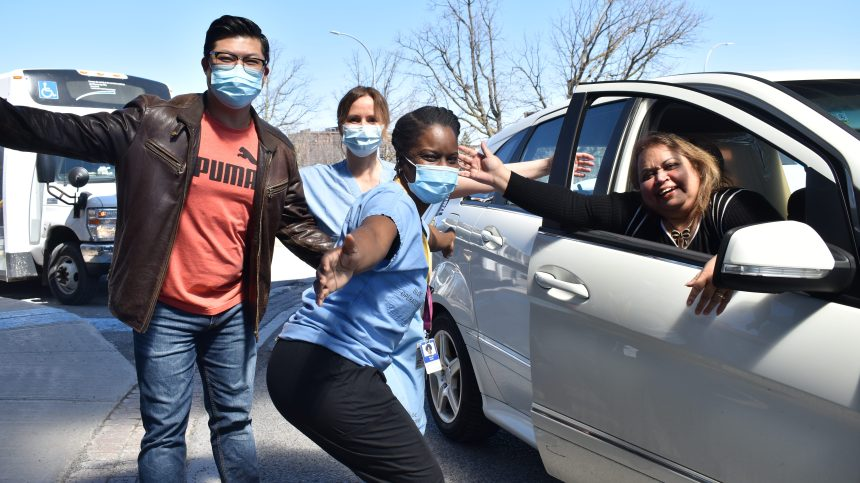 COVID-19: fin du projet de dons de nourriture à l'Hôpital du Lakeshore