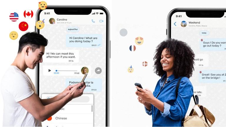 Cette app de messagerie traduit tout, même les appels et les vidéos!